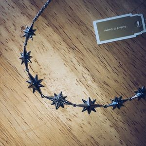 Michael Kors Silver Star Necklace